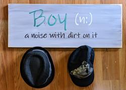 Boy Noun Board
