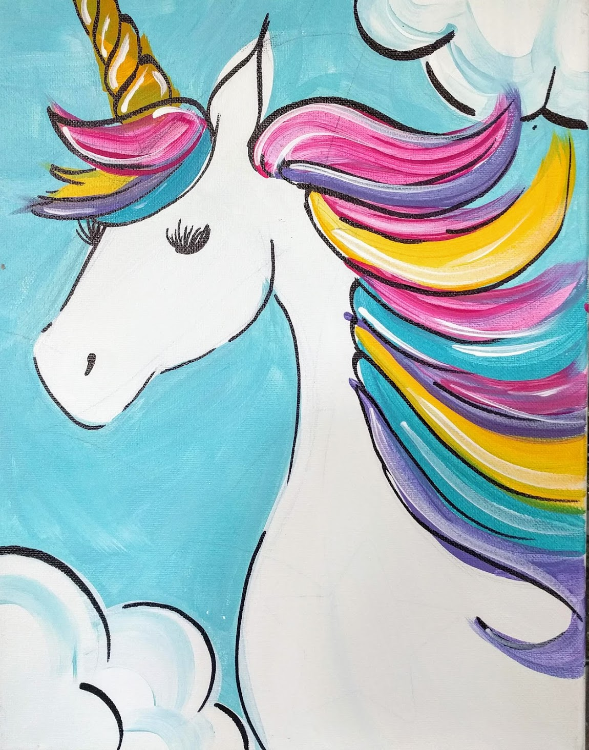Kids Rainbow Unicorn