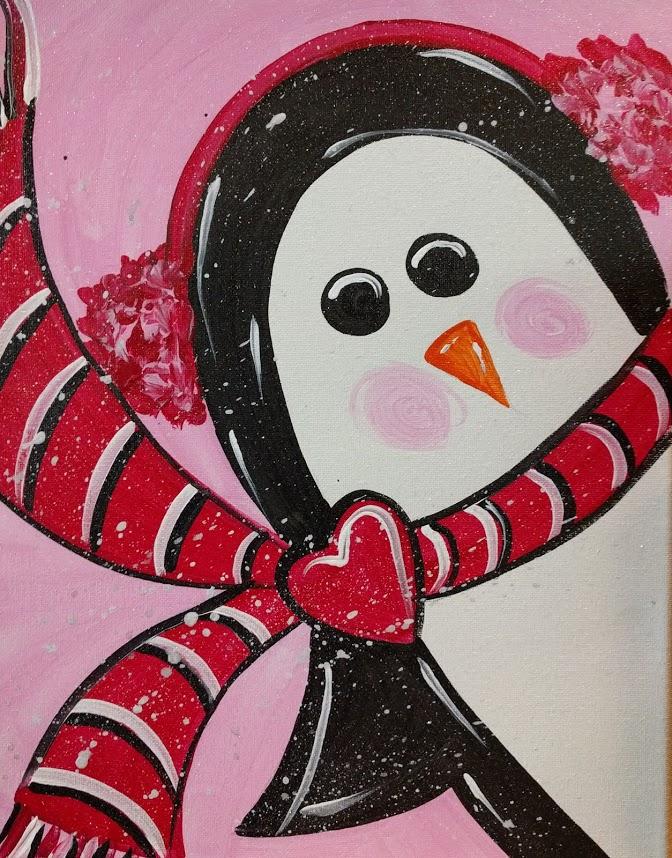 Pink Penguin