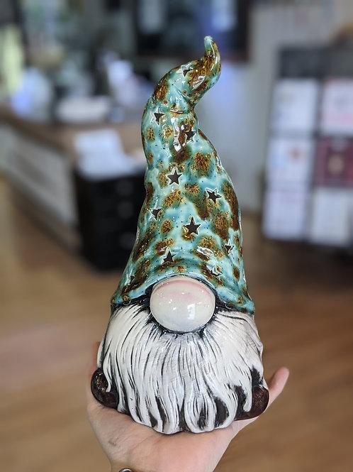 Large Tea Light Gnome