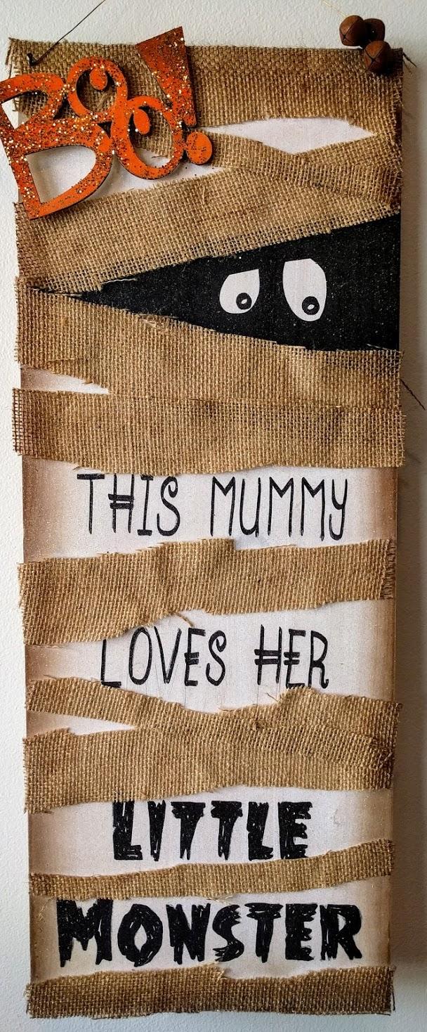 This Mummy on Wood