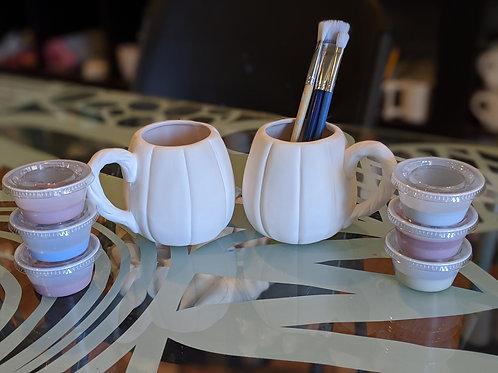 Pumpkin Mug Set
