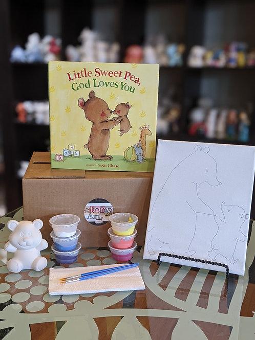 StoryART Kit: Little Sweet Pea, God Loves You