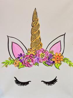 Unicorn & Flowers