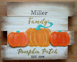 Pallet Pumpkin Patch