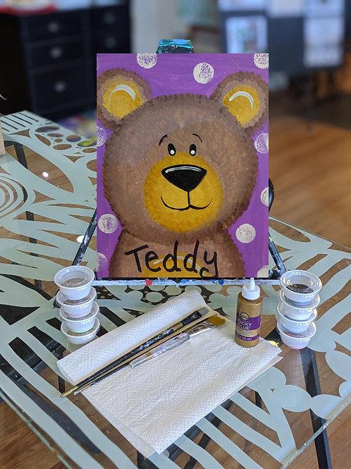 Canvas To-Go Kit: Teddy