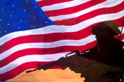 Flag & Soldier