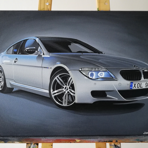 BMW E63 M6 ARTWORK