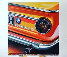 INKA ORANGE BMW 2002 ART/PAINTING
