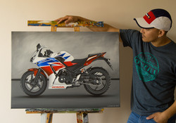 Honda CBR300R Artwork _ Wall Art _ Poste