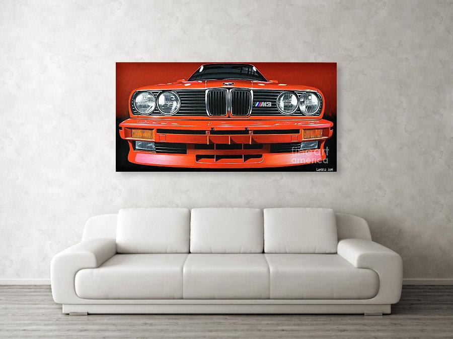 BMW E30 M3 ART PRINTS | BMW E30 M3 POSTERS | BMW E30 M3 WALL ART | BMW E30 M3 PAINTING