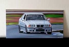 BMW E36 M3 ARTWORK