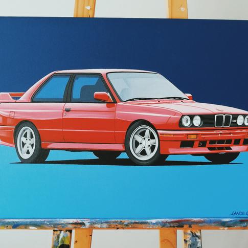 BMW E30 M3 ARTWORK