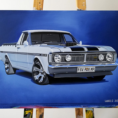 1972 FORD RANCHERO GT ARTWORK