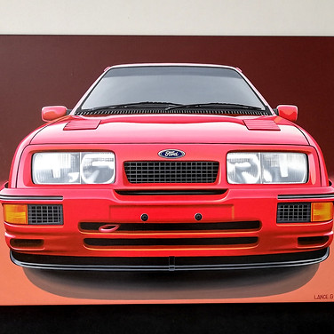 FORD SIERRA COSWORTH RS500 ARTWORK