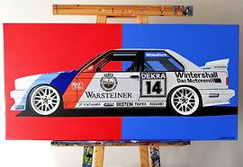 BMW E30 M3 DTM ARTWORK/PAINTING