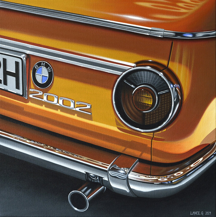 BMW 2002 ART PRINT | BMW 2002 WALL ART