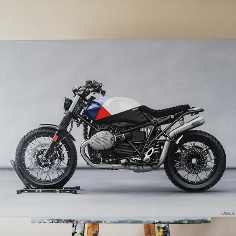 2018 BMW RNINE T SCRAMBLER ARTWORK