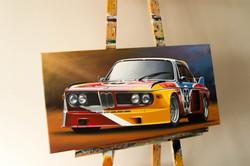 1975 ALEXANDER CALDER BMW E9 3.0 CSL ARTWORK