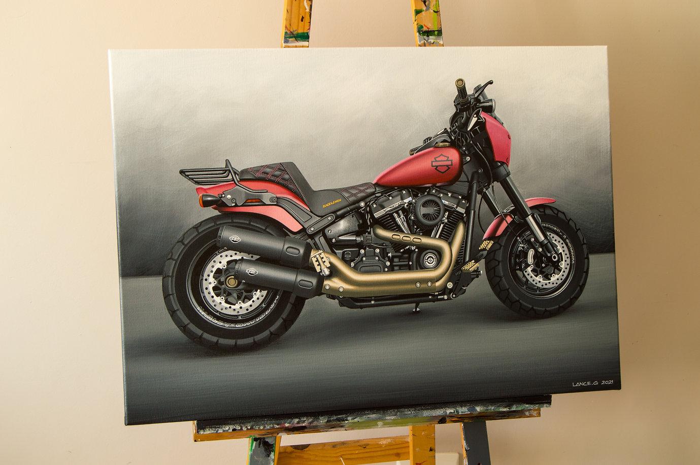 2019 Harley Davidson Fat Bob Artwork | A