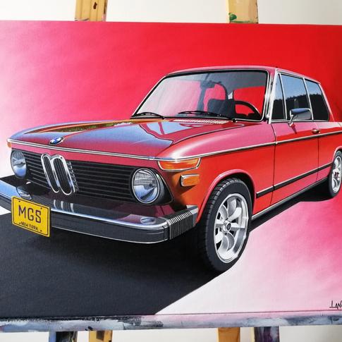 1975 BMW 2002 ARTWORK