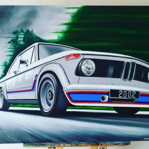 BMW 2002 TURBO ARTWORK