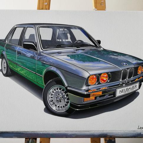 BMW E30 323I ARTWORK