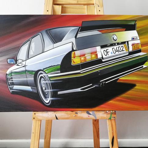 BMW E30 M3 SPORT EVO ARTWORK