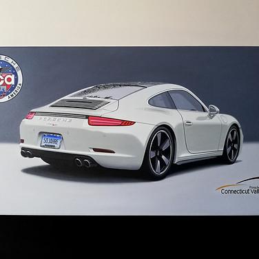 2014 PORSCHE 911 50TH ANNIVERSARY, LIMITED EDITION ARTWORK