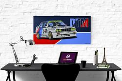 BMW E30 M3 DTM ARTWORK | ACRYLIC PAINTING