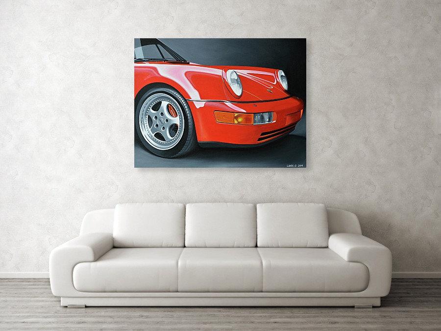 PORSCHE 911 964 ART PRINT | PORSCHE 911 964 POSTERS | PORSCHE 911 964 WALL ART