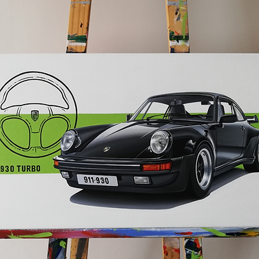 PORSCHE 911 930 TURBO ARTWORK