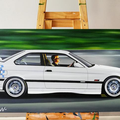 BMW E36 M3 LIGHTWEIGHT ARTWORK
