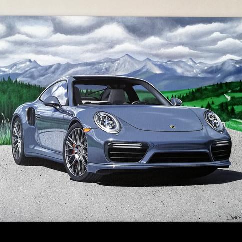 2017 PORSCHE 911 TURBO ARTWORK