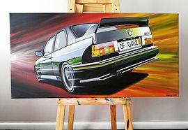 BMW E30 M3 EVO SPORT EVOLUTION ARTWORK/P