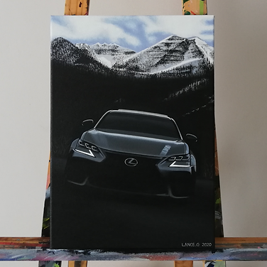 LEXUS GSF ARTWORK