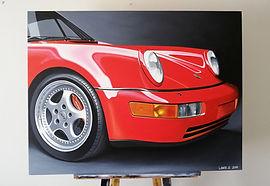 PORSCHE 911 964 ART_PAINTING