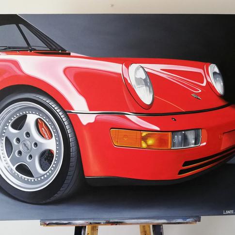 PORSCHE 911 964 ARTWORK