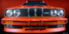 E30 M3 FRONT VIEW DIGITAL PRINT