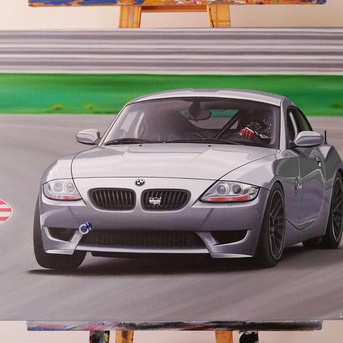 2007 BMW Z4M ARTWORK