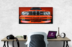BMW E30 M3 ARTWORK | ACRYLIC PAINTING
