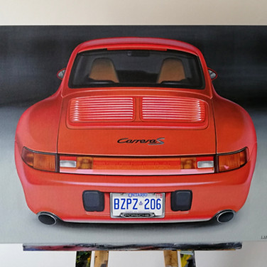 1997 PORSCHE 911 993 C2S ARTWORK