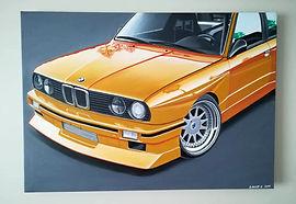 BMW E30 M3 ARTWORK/PAINTING