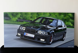1998 BMW E36 323TI COMPACT ART/PAINTING