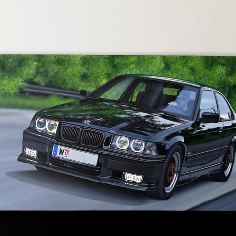 1998 BMW E36 323TI COMPACT ARTWORK