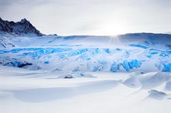 Clacial Ice.