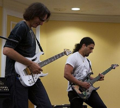 Jamming with Vai at JemFest