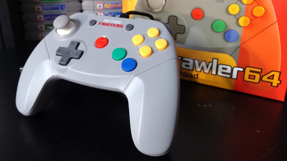 Retro Fighters Brawler64 Gamepad Review