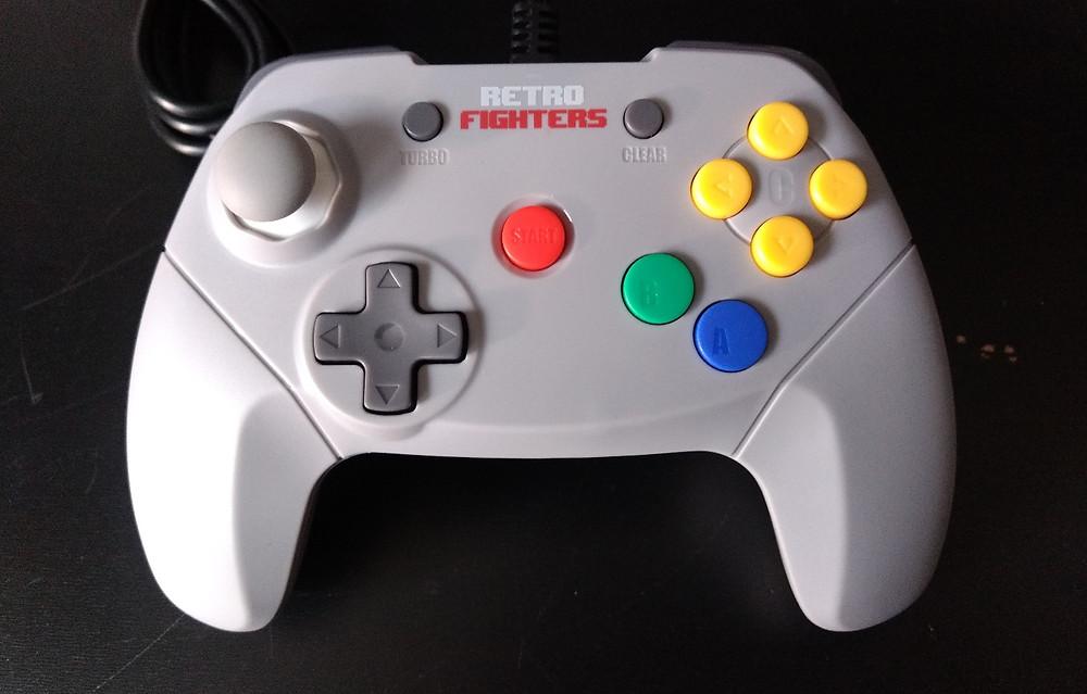 Retro Fighters Brawler64 Gamepad