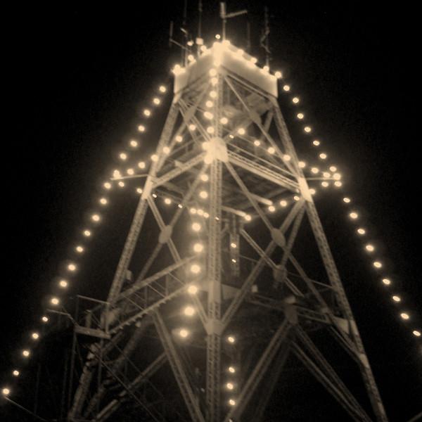 Tarrangower Tower Easter Lights